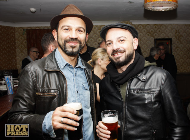 Claudio Mercante and Luca Masi at the Launch of David Bowie Festival by Heta Pöyry